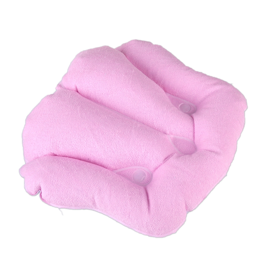 Home Spa Back Neck Cushion Shell Inflatable Terrycloth