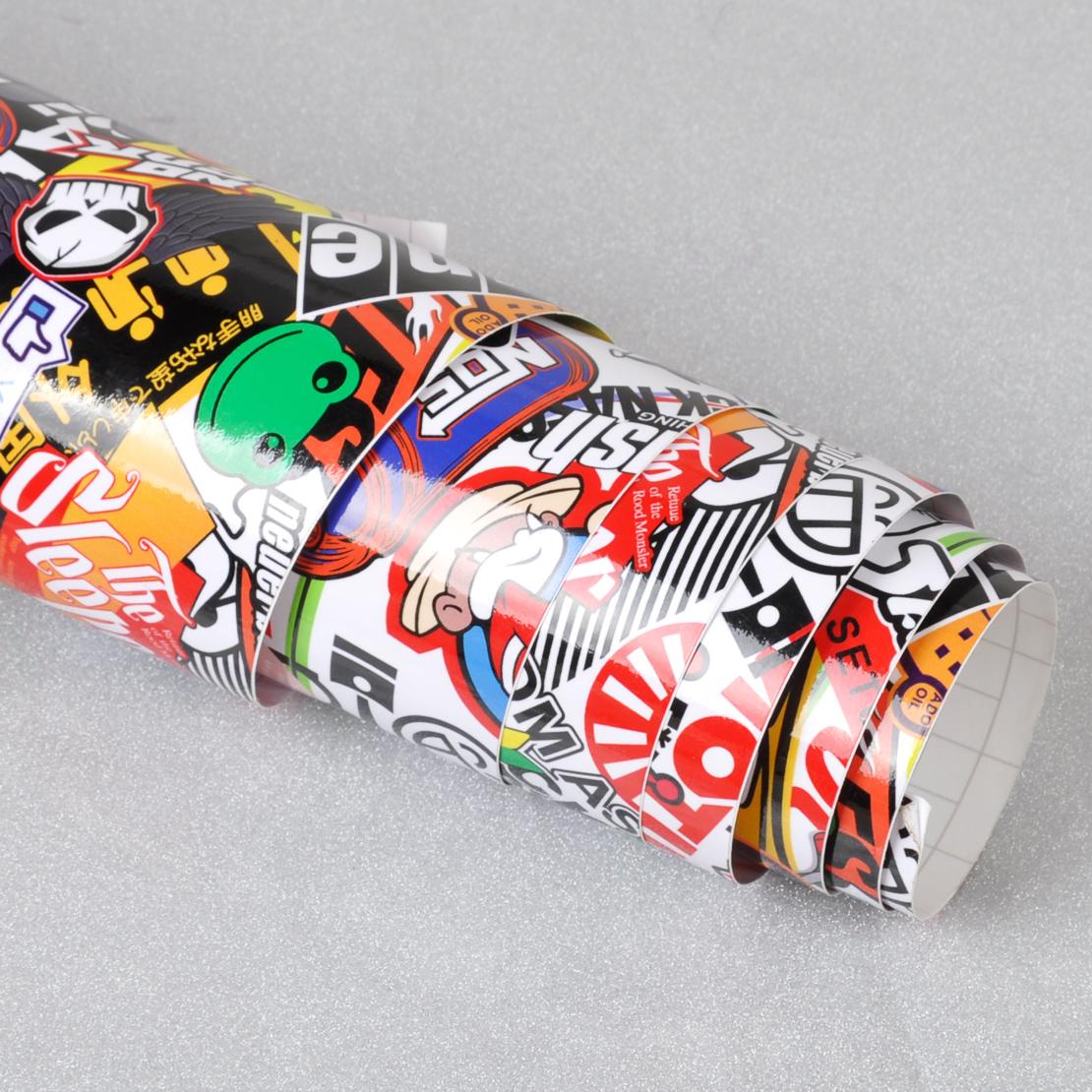 60 x 20 jdm animal cartoon graffiti car sticker bomb wrap sheet decal sticker ebay. Black Bedroom Furniture Sets. Home Design Ideas