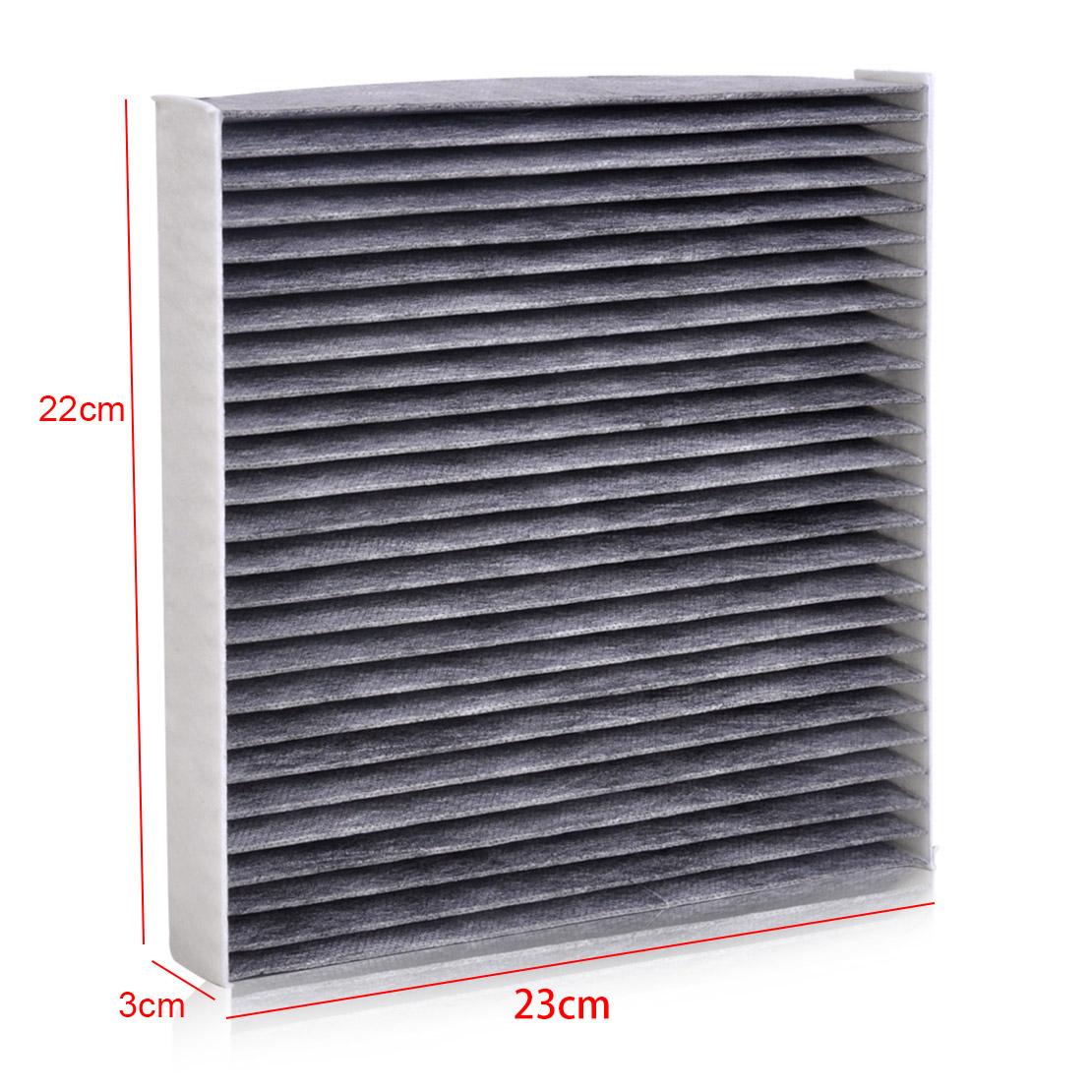 Gray cabin air filter 80292 sda a01 80292seca01 for acura for 2009 honda odyssey cabin air filter