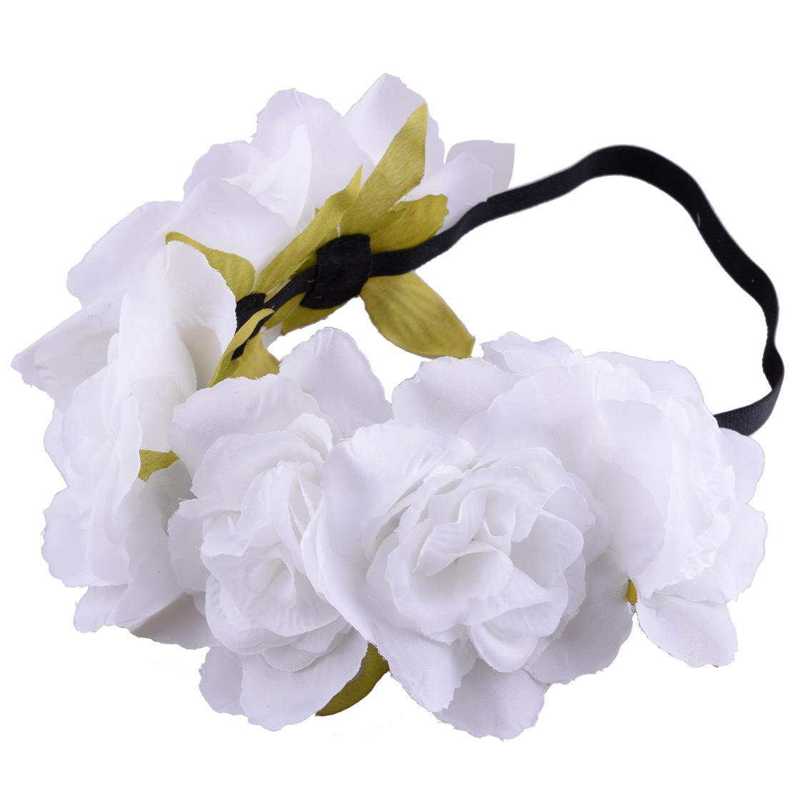 Girl crown floral rose flower headband hairband hair garland bride girl crown floral rose flower headband hairband hair izmirmasajfo