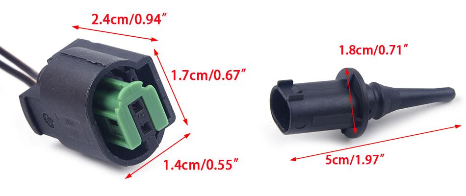 Außentemperatur Temperatur Sensor Ersatz 0075421318 fur Mercedes W168 W169 W246