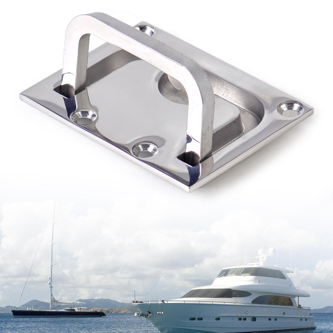 Marine Kitchen Cabinets: Silver Stainless Boat Marine Flush Hatch Locker Cabinet