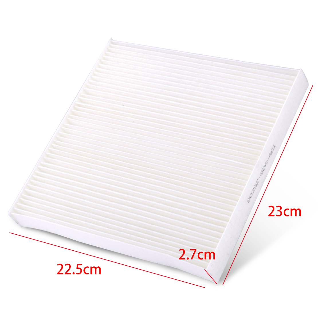 White Cabin Air Filter Fit For Acura Csx Ilx Honda Accord
