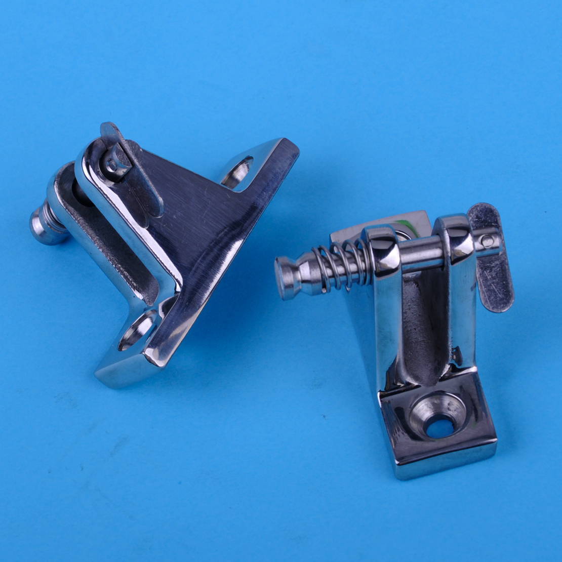Angled Deck Mount  Quick Release Toggle Pin x 2 pieces Boat Canopy Bimini