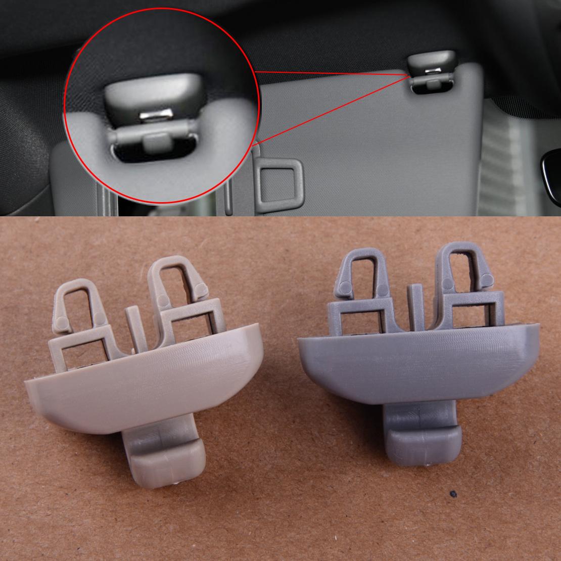 Beige Sonnenblende Halter Visierklammer 4B0857562 Für Audi TT A6 S6 Grau