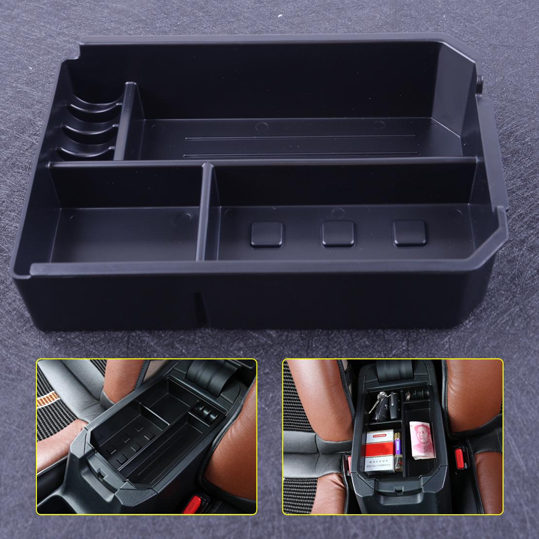 Armrest Storage Box For Toyota RAV4 2014-2017 2018 Central Console Organizer