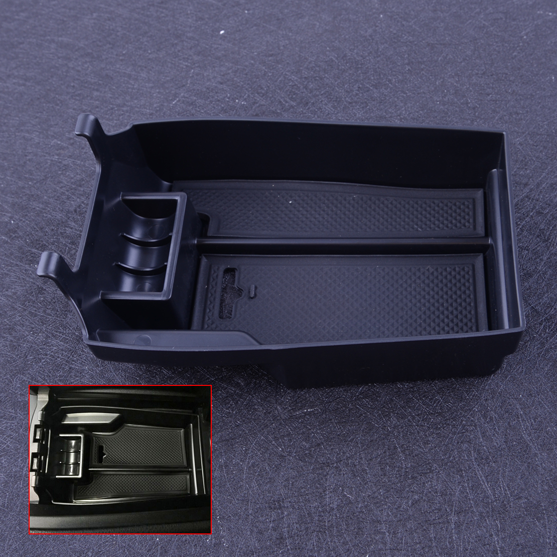 Armrest Console Central Storage Box Fit For Mercedes Benz C Class W204 2008-2013