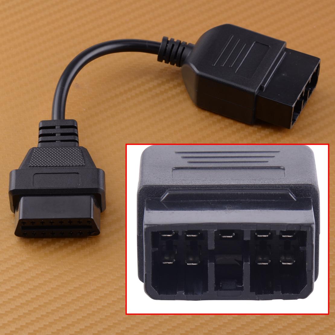 Diagnose Adapter für Subaru Stecker 9 Pin OBD II 2 OBD2