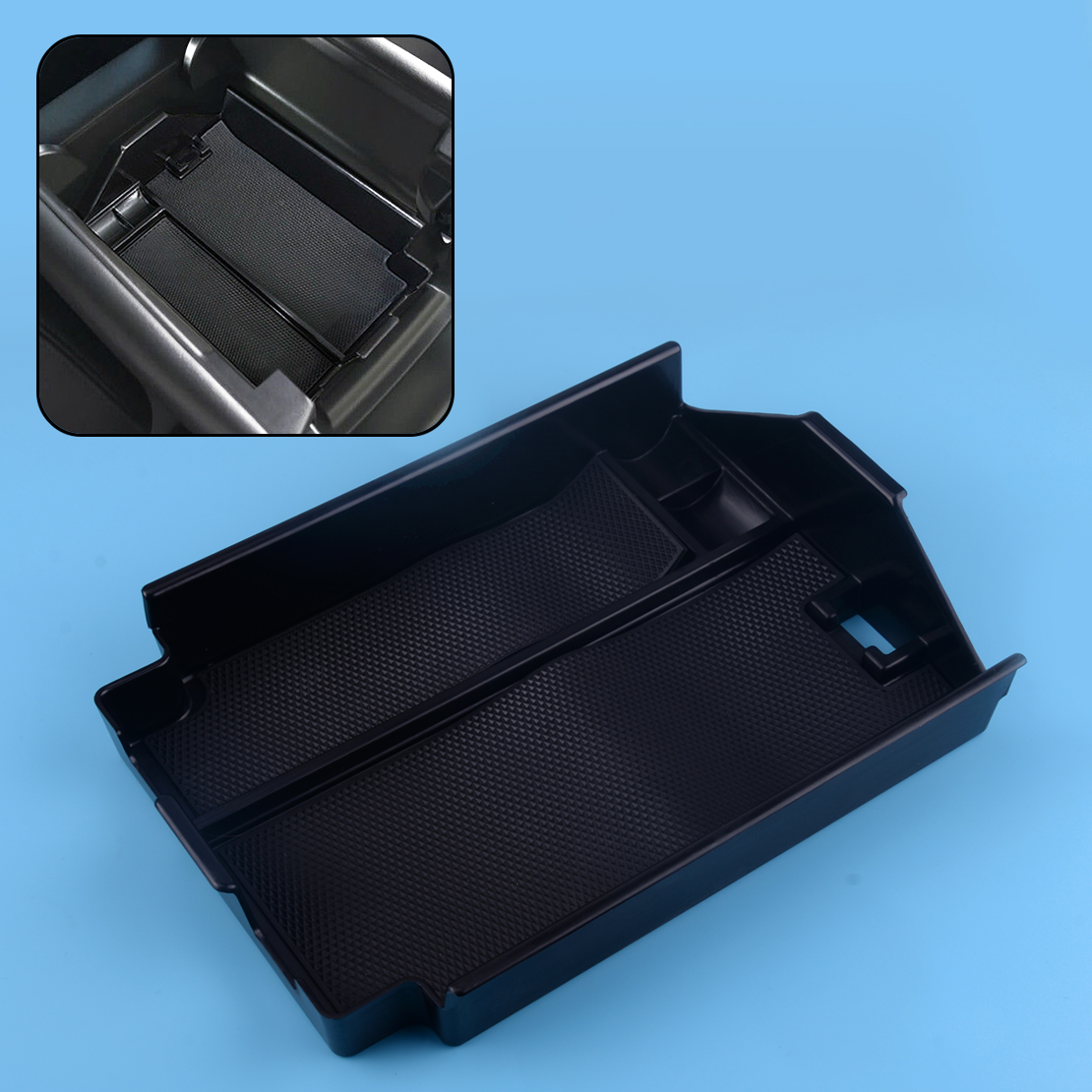 Center Console Armrest Storage Box Organizer Tray For Mazda CX-9 2016-2018