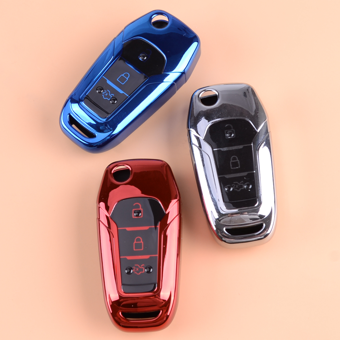 Car Key Fob Cover for Ford TPU Case Protective Cover