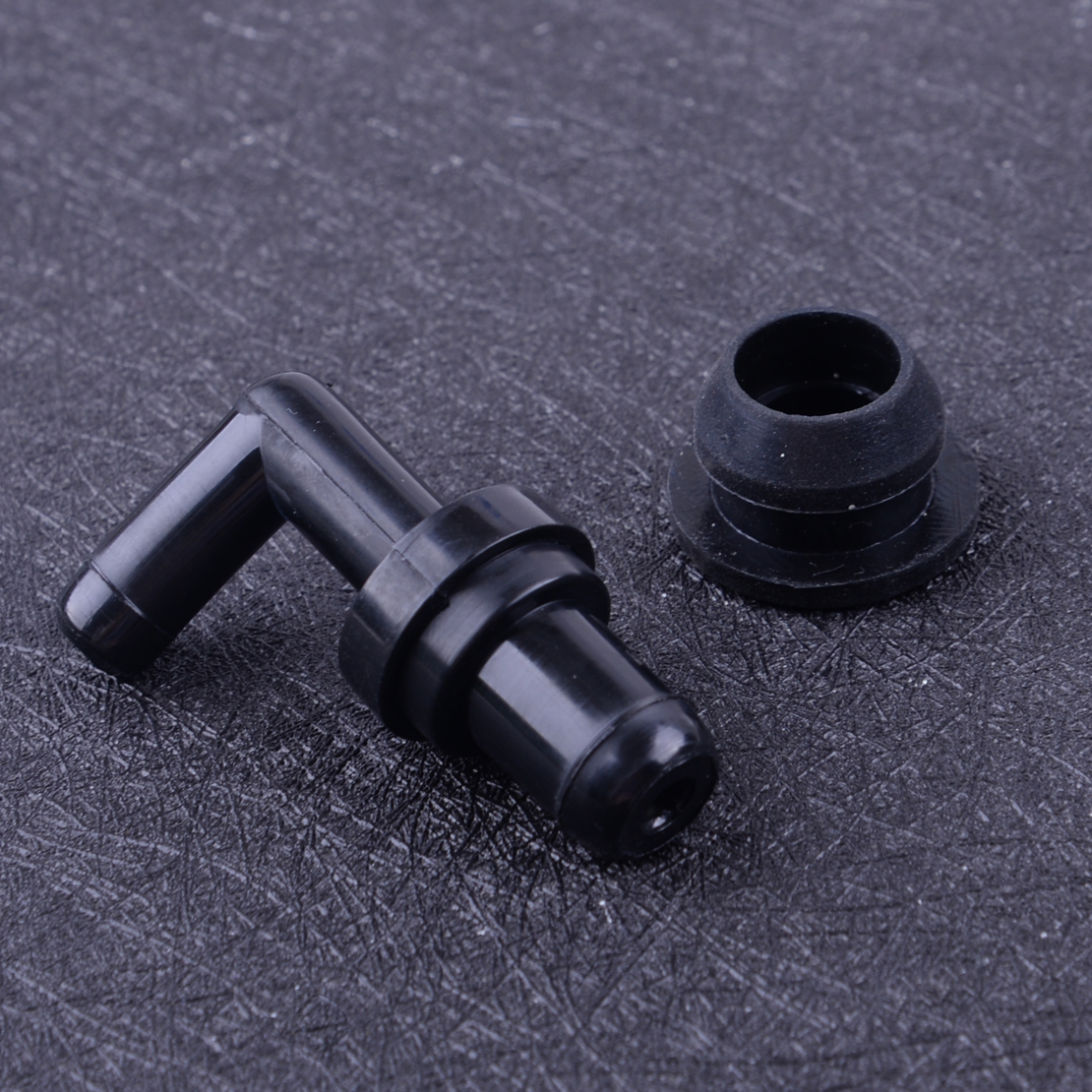 90° PCV Valve Grommet Fittings Kit For Honda Accord Prelude CL Acura NSX RL MDX