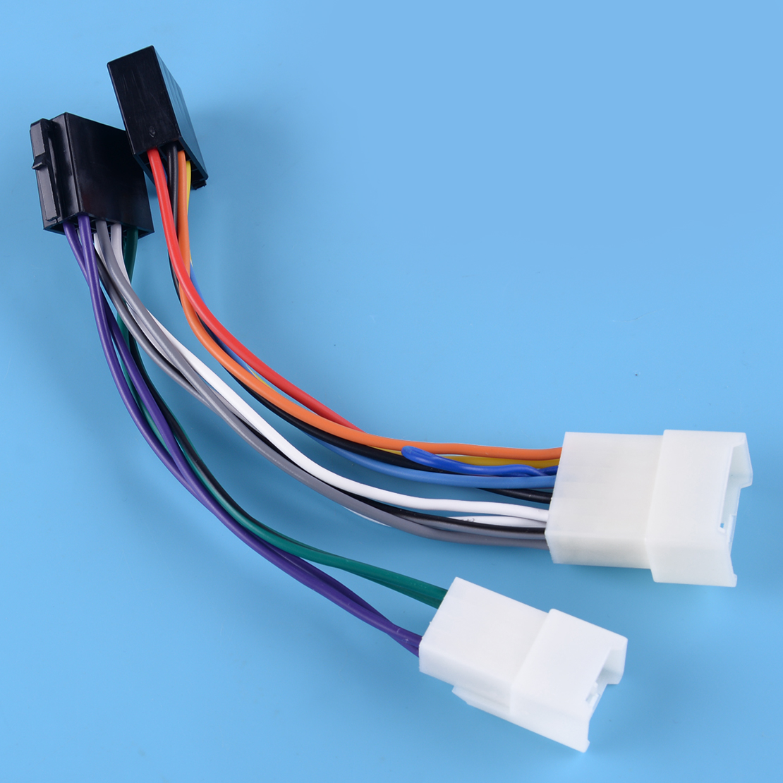 Stereo Iso Wiring Harness Adaptor Connector Fit For Toyota