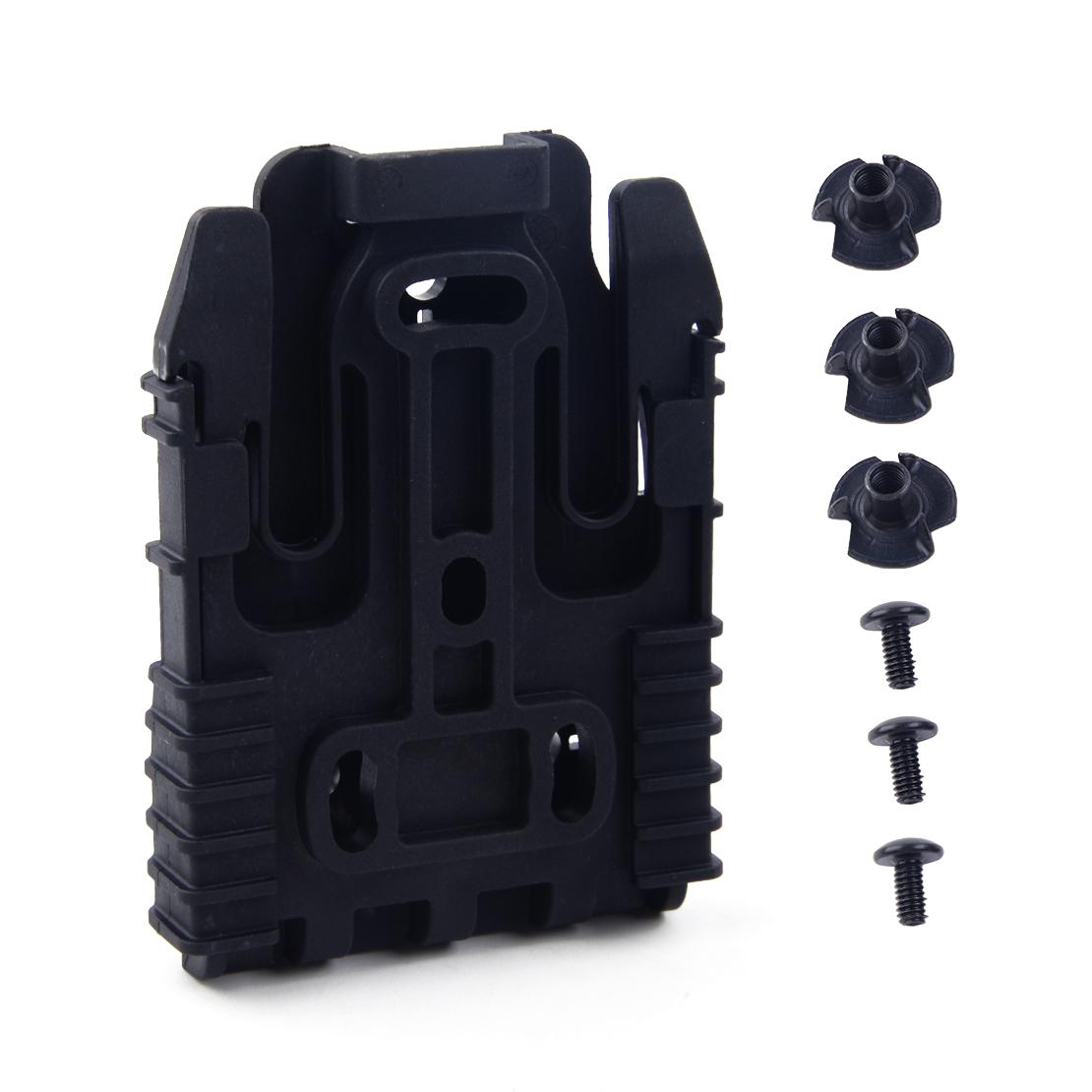 FMA rapido sistema di bloccaggio FONDINA QLS KIT TB1042-nero De