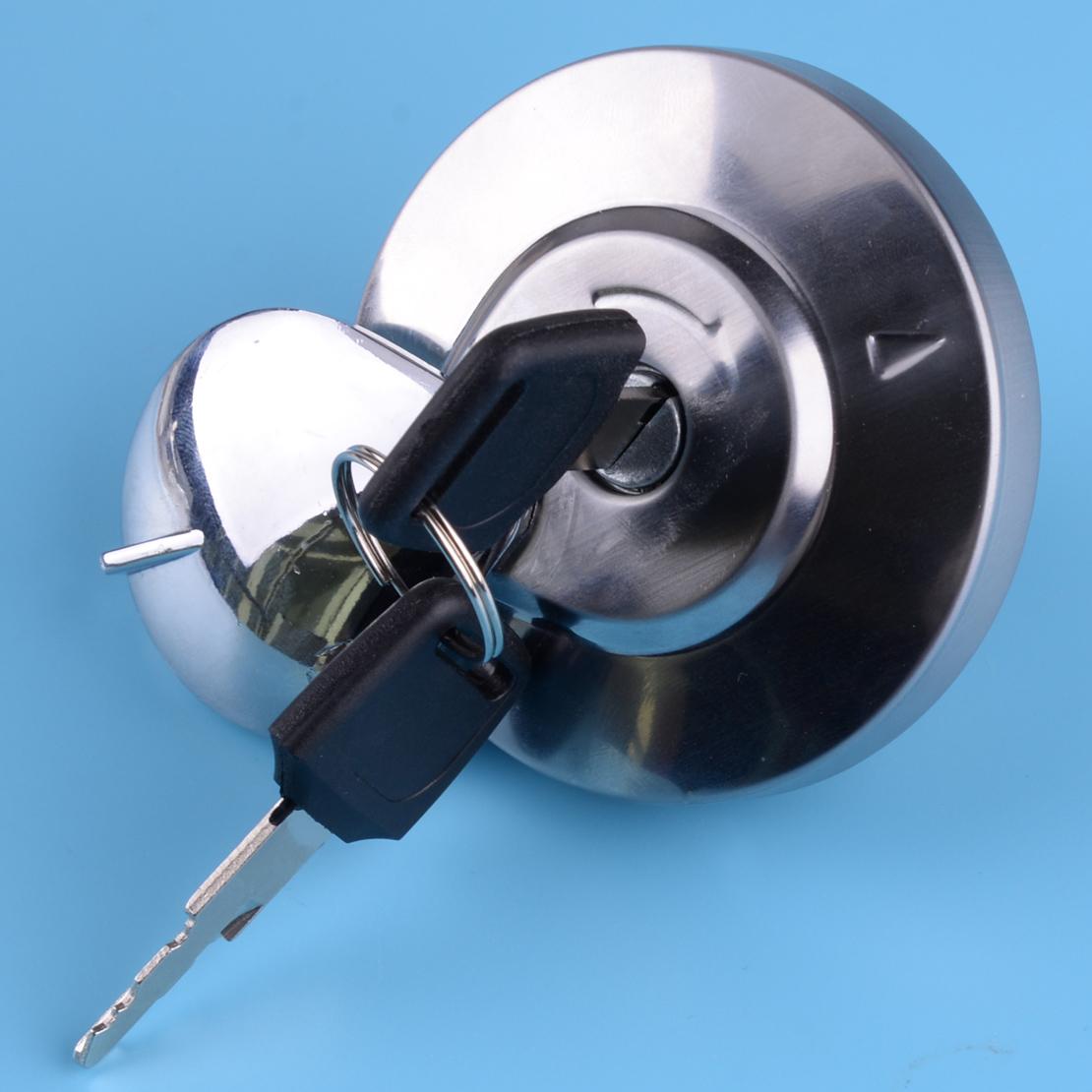 Tankdeckel Tankklappe /& 2 Schlüssel für Honda Shadow Spirit VT750 DC VLX VT600