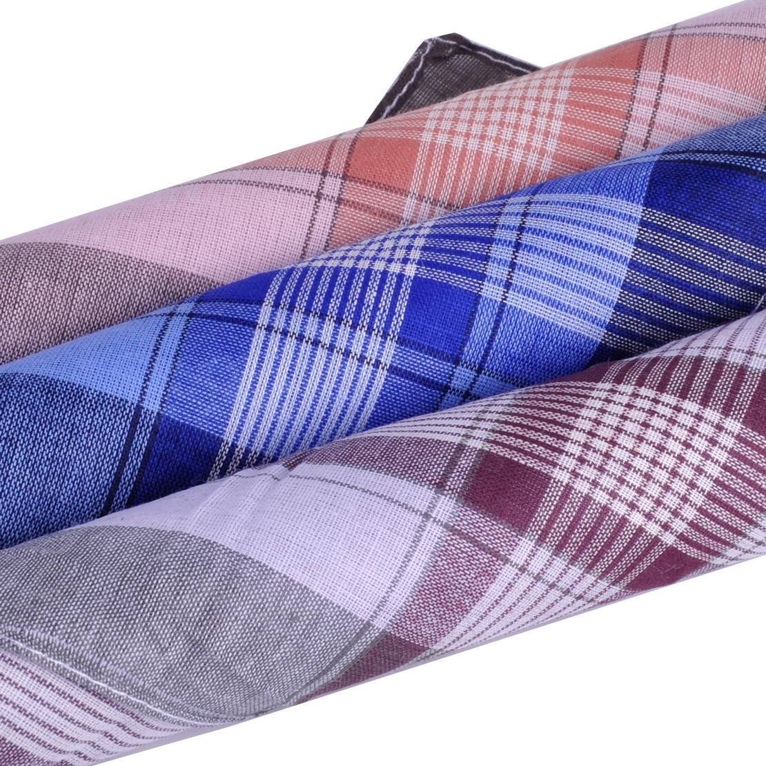 12x Taschentücher Stofftaschentücher Herren Anzug Taschentuch aus Baumwolle