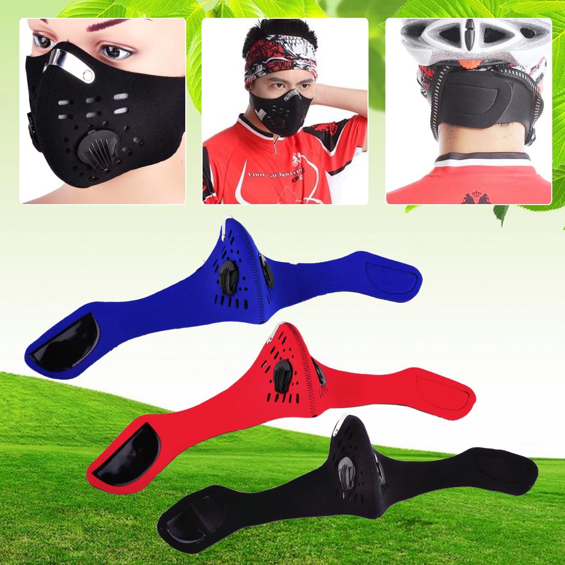 Outdoor Schutzmaske Windschutz Sport Fahrrad Biker Feinstaubmaske Staubmasken