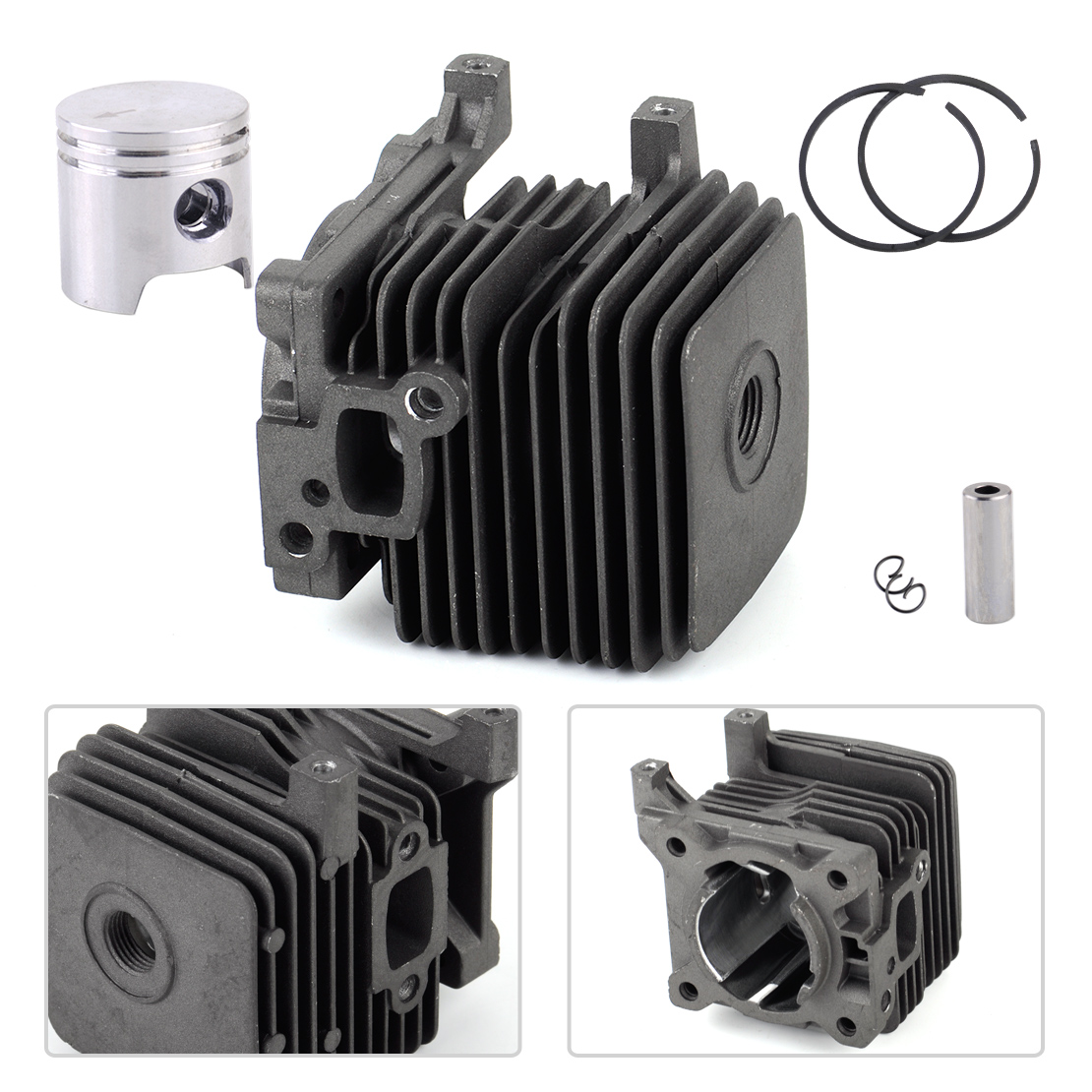Trimmer Cylinder Piston Kit Fit STIHL FS55 BR45 KM55 HL45 HS45  4140 020 1202