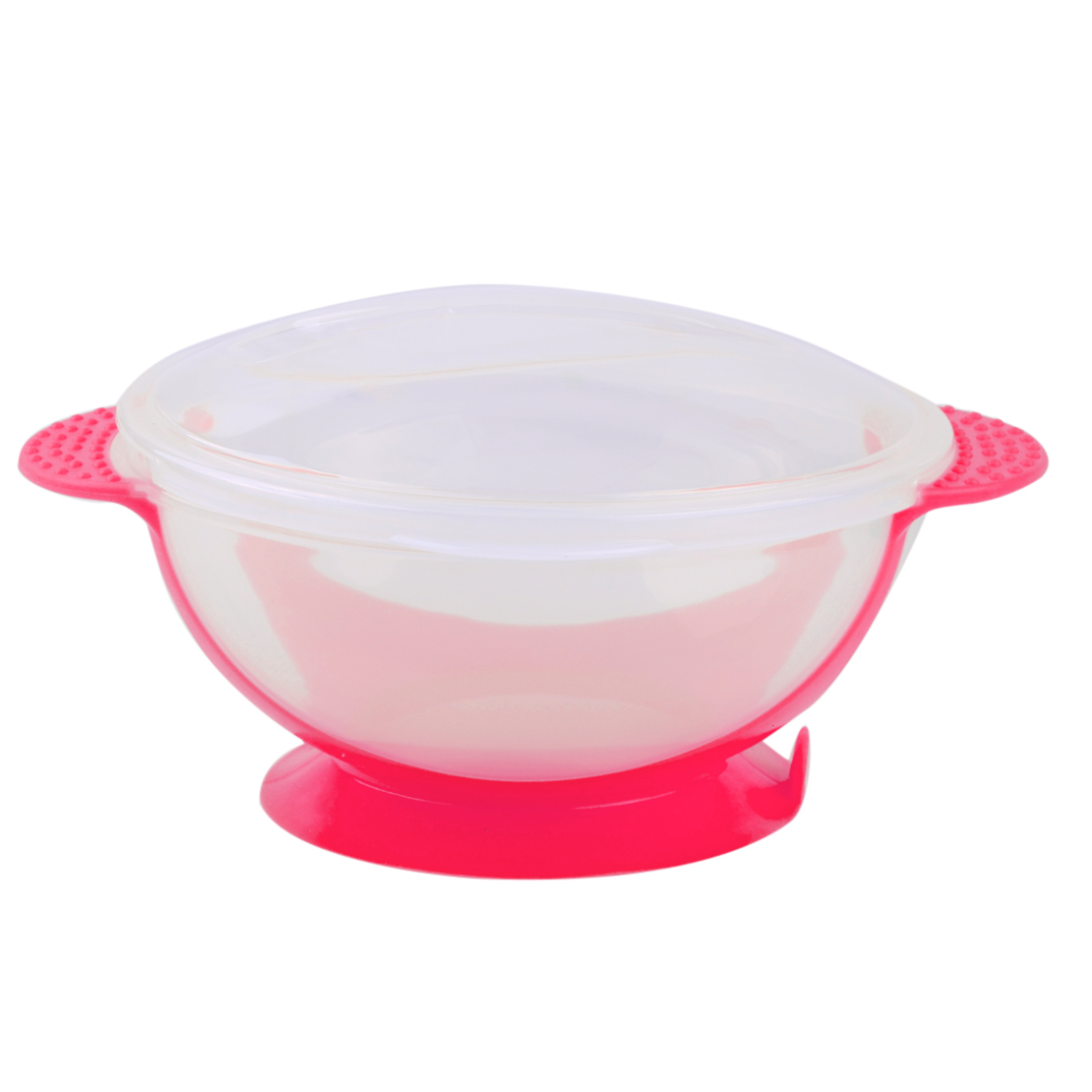 Kids Suction Cup Bowl Slip-resistant Tableware Temperature Sensing Spoon Set UK