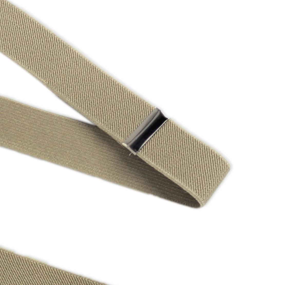Hosenträger Knopflöcher Lederlaschen knöpfen Hose Y-Form Ledernasen einknöpfen