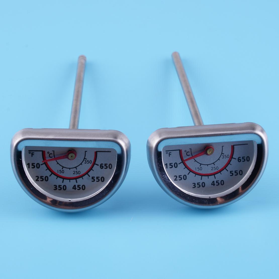 2 Stücke Ersatz Thermometer Wärmeanzeige für Charbroil Grill 463224912