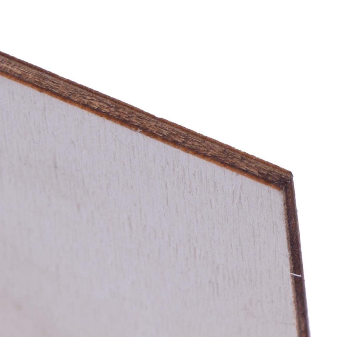 50pcs ornement bois planches étiquettes en bois étiquettes suspendues feuiOP