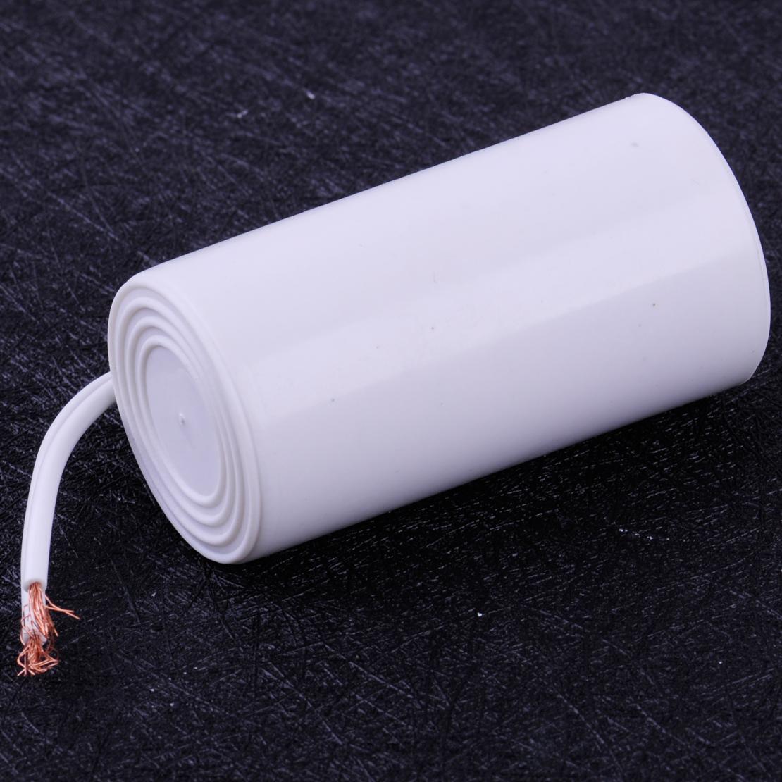 Condensador para motor de corriente alterna 450 V, 50//60 Hz, 2 cables CBB60 8uF