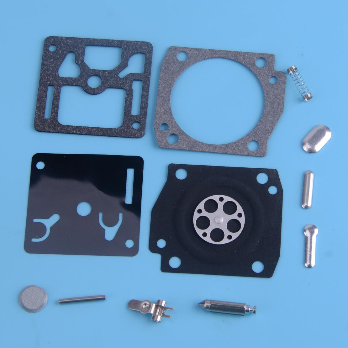 Carburetor Repair Kit Fit Husqvarna 340 350 345 346 351 372 346XP Zama RB-122